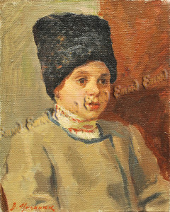 Циганюк В. Пастушок. х.м. 2010 19,5х25