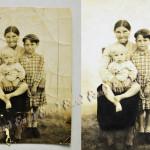 Отреставрированное фото