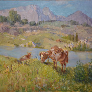 Смирнов А. Весна Симеиз 2006г. х.м. 50х70