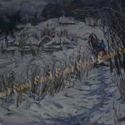 Снежная Хортиця 90х60 х.м. 2010г.Дудченко М.А.