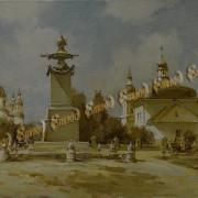 Ступка Стара Полтава х.м. 27х41 2017 г.